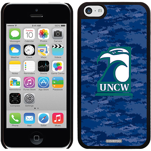 UNCW Color Camo Design on Apple iPhone 5c Thinshield Snap-On Case by Coveroo