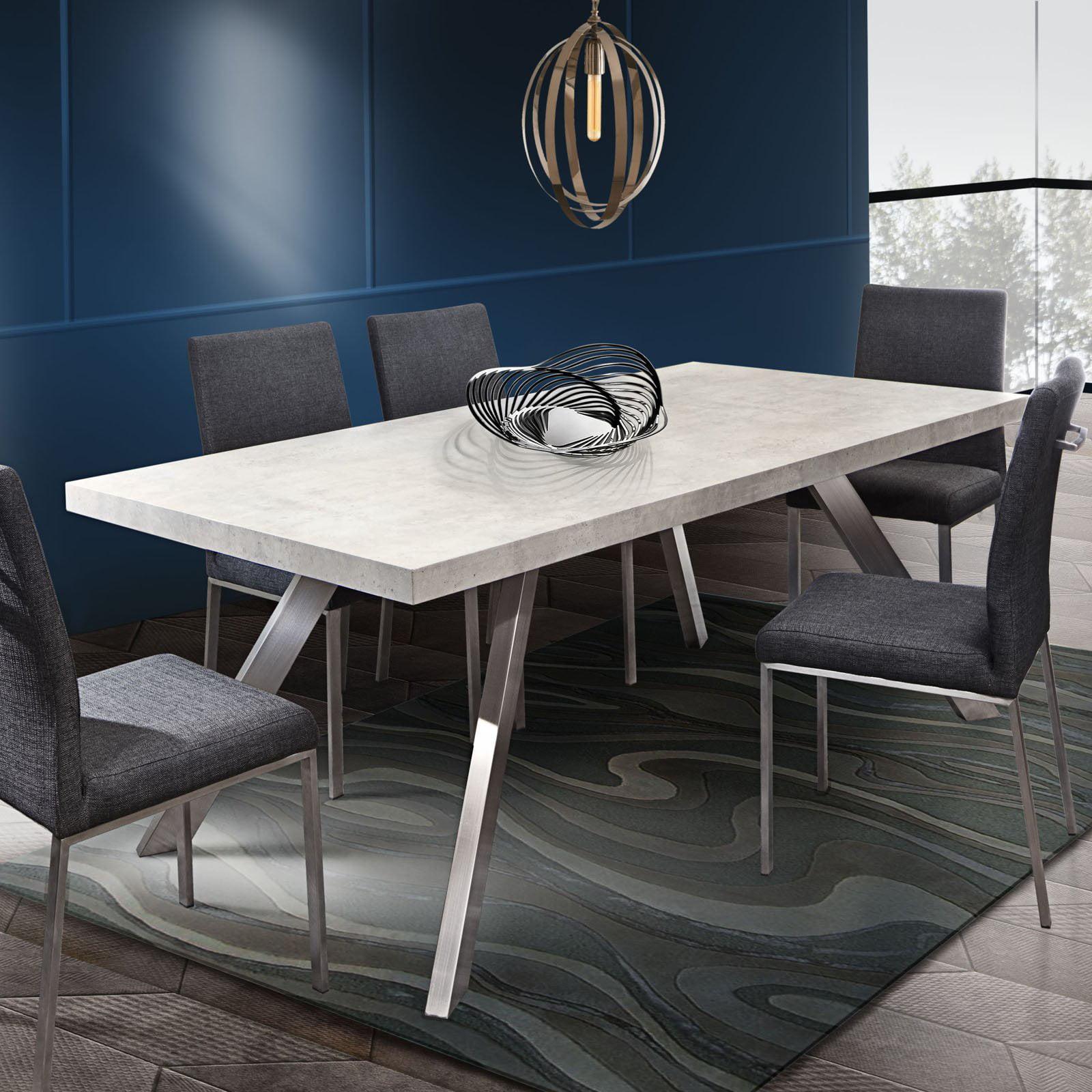 Diamond Sofa Carrera Marble Dining Table