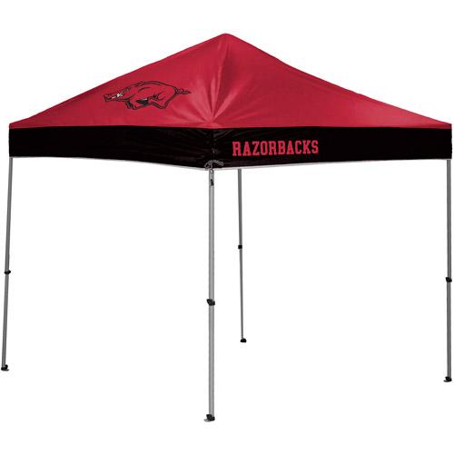 Rawlings NCAA 10' x 10' Straight Leg Canopy, Arkansas Razorbacks