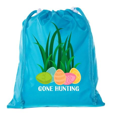 c3b79e8cb647 Mini Easter Basket Bags, Bulk Drawstring Cinch Sacks, Mini Easter Bunny  Bags - Gone Hunting