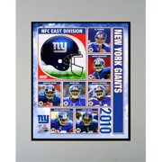 Encore Select M2-FBNYG2010 2010 New York Giants 11X14 Double Matted