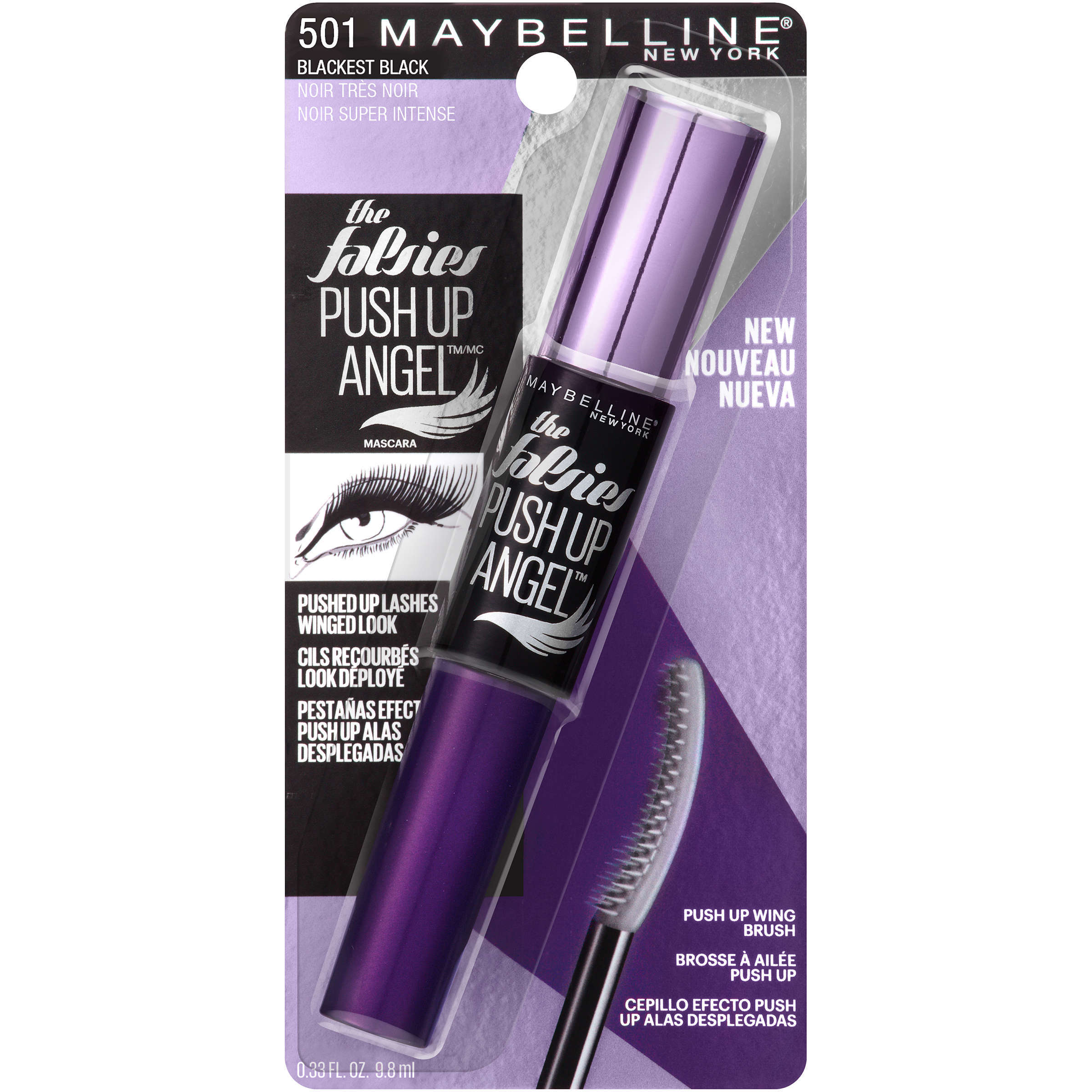 Maybelline The Falsies Push Up Angel Washable Mascara