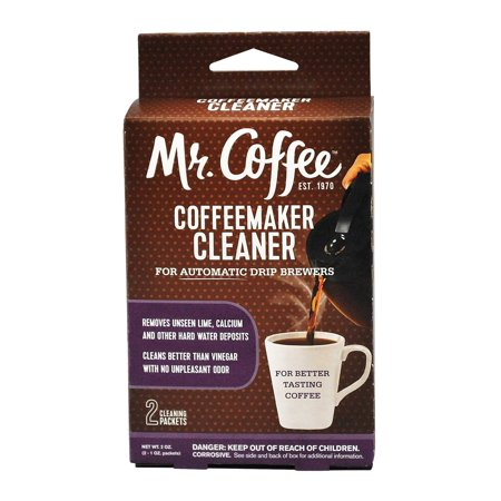 Mr.Coffee Coffeemaker Cleaner for Automatic Drip Brewers, 2