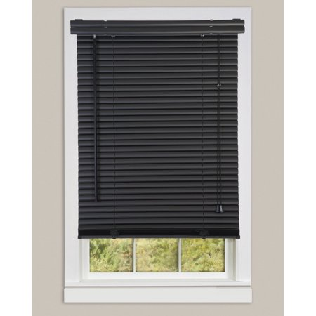 Black Mini Blinds Walmart.Window Blinds Mini Blinds 1 Slats Black Venetian Vinyl Blind