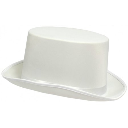 Adult Silk White Top Hat Theatrical Roaring 20'S Adult Costume Accessory](Roaring 20s Suits)