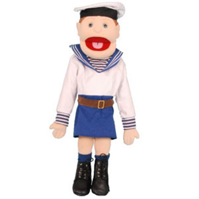 Sunny Toys GS4577 28 In. Girl Navy, Full Body Puppet by Sunny Toys