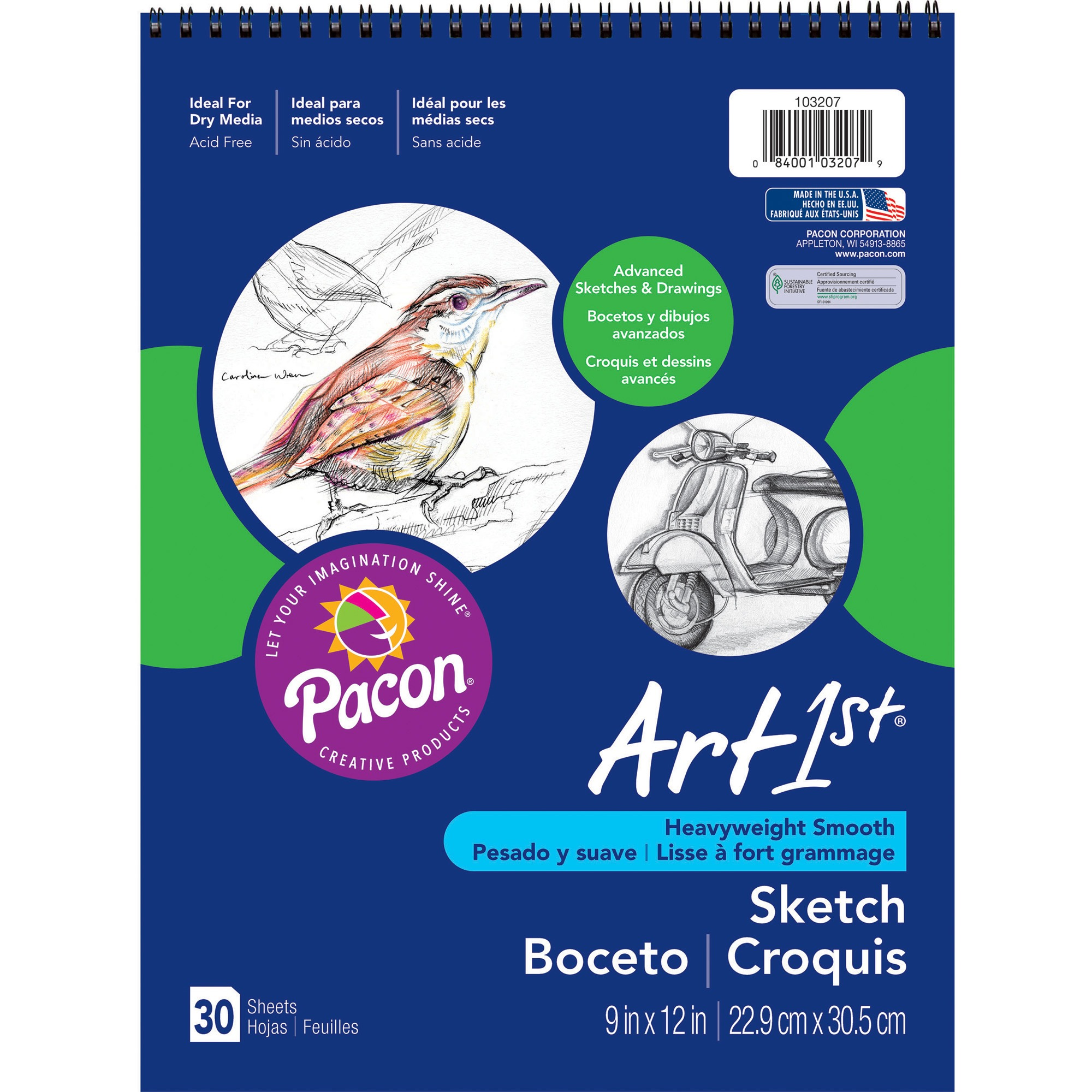 Pacon Art1st Sketch Book by PACON CORPORATION
