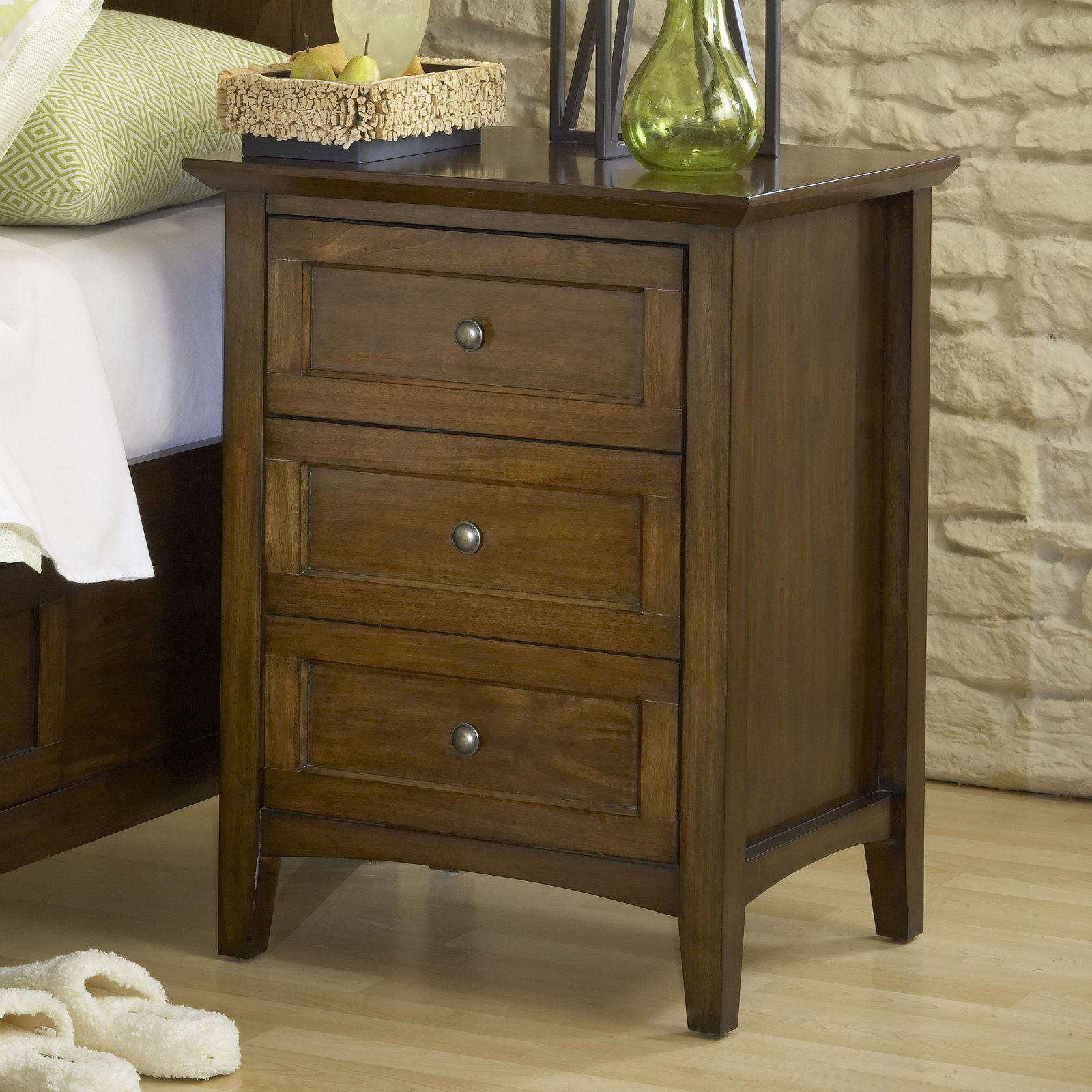 Modus Paragon 3 Drawer Nightstand by Modus Furniture International