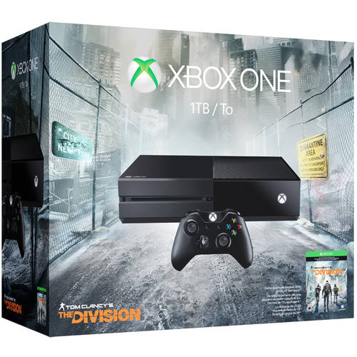 Xbox One 1TB Tom Clancy's The Division Console Bundle