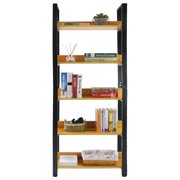 """Steel Wood Racks Shelves Over The Toilet Rack 5 Tier Accessory Sets Home Livingroom Space Saver Storage Cabinet With Steel Support Frame And Wood Board Width 31.5"""""""