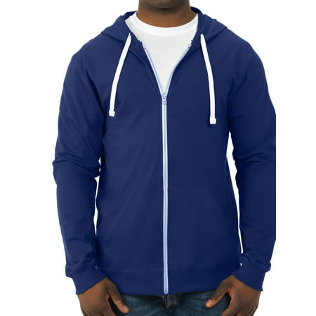 Fruit of the Loom Men's 100% Sofspun Cotton Jersey Full Zip