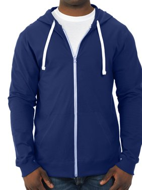 a686d815d2f5b Product Image Fruit of the Loom Men's 100% Sofspun Cotton Jersey Full Zip  Hood