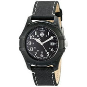 Mens Analog Camper Canvas Strap EXPEDITION Watch #T49689
