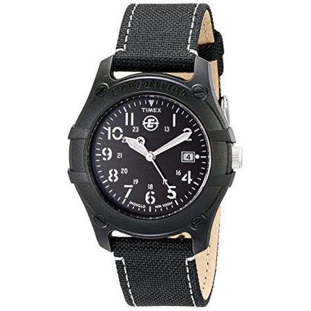 Mens Analog Camper Canvas Strap EXPEDITION Watch #T49689 ()