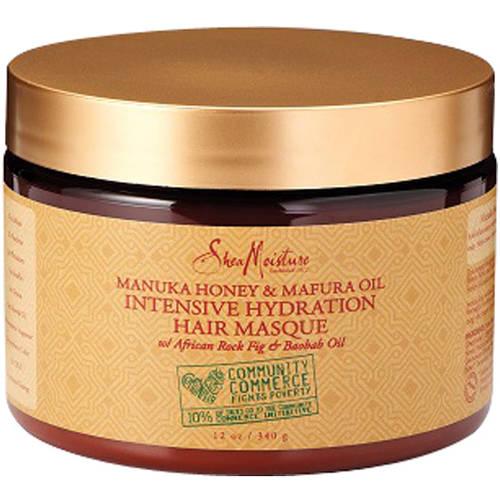 SheaMoisture Manuka Honey & Mafura Oil Intensive Hydration Hair Masque, 12 oz