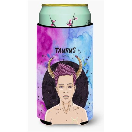 Carolines Treasures BB7318TBC Taurus Zodiac Sign Tall Boy Beverage Insulator Hugger - image 1 of 1