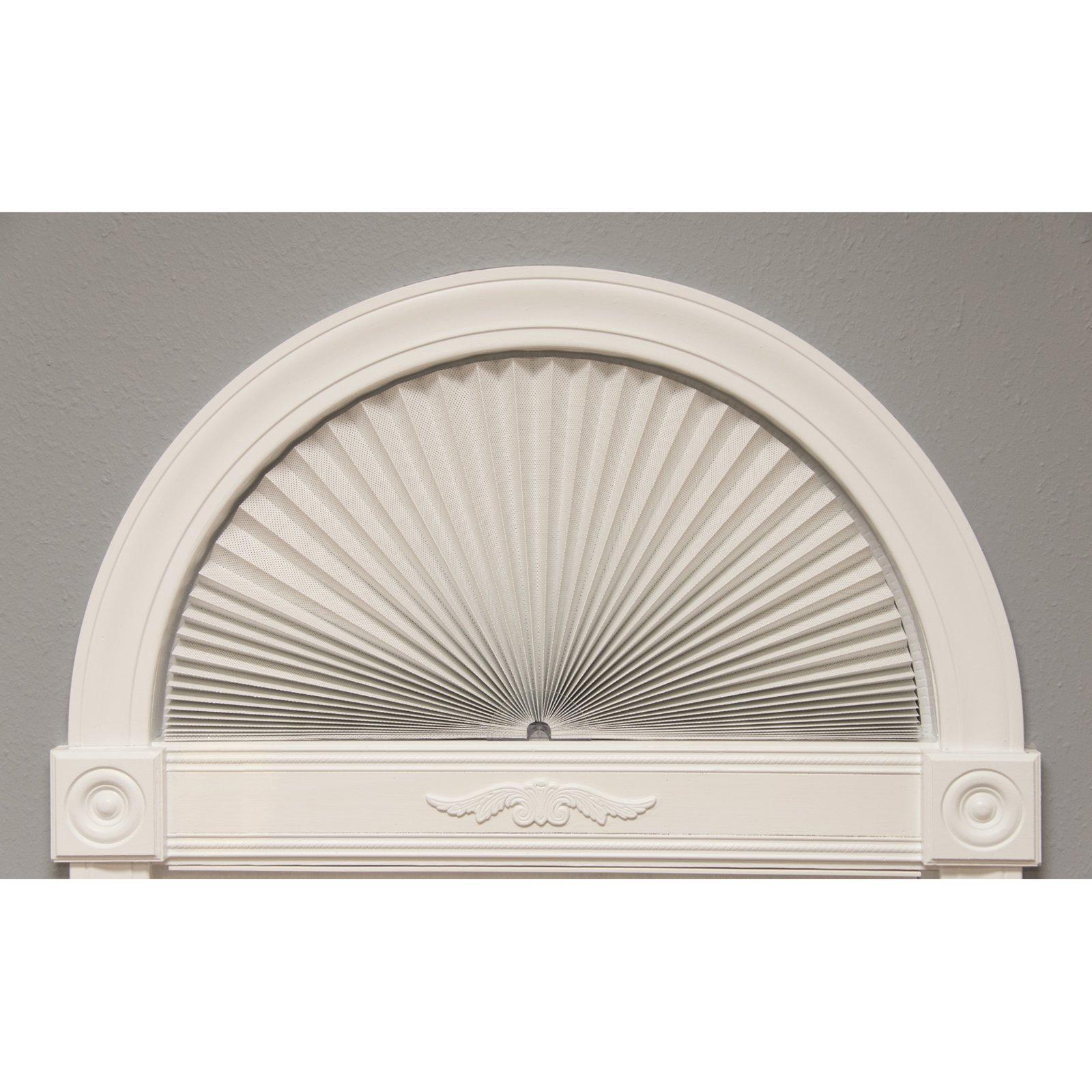 Redi Shade Original Arch Sheer View Solar Fabric Window Shade