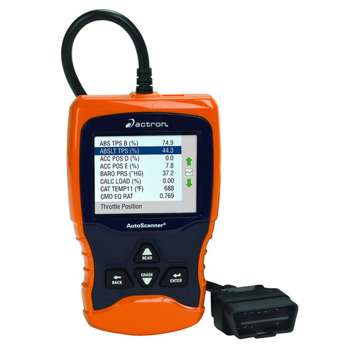 Actron CP9670 Autoscanner Trilingual OBD II and Can Scan Tool w/Color Screen