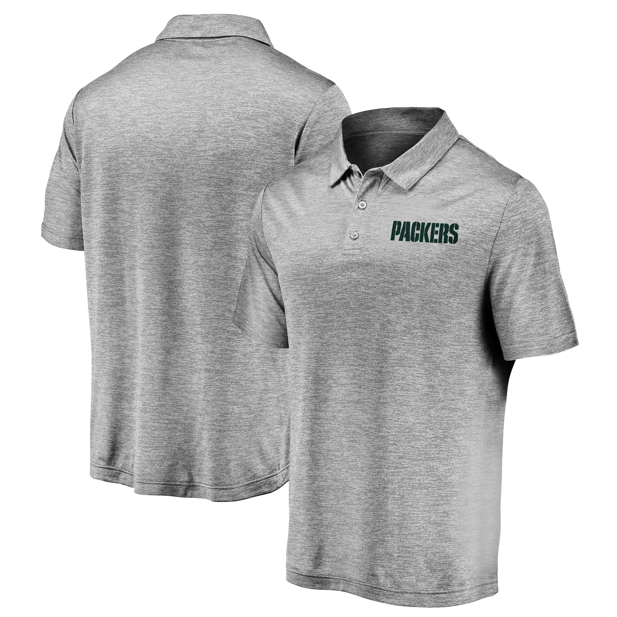 NFL Green Bay Packers Cut And Sew Rugby Shirt Black Mens Fanatics Branded.