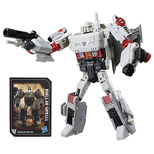 Transformers Generations Titans Return Megatron and Doomshot by Hasbro