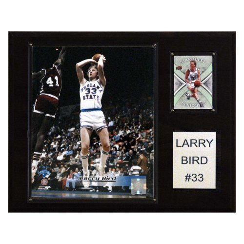 NCAA 12 x 15 in. Football Larry Bird Indiana State Sycamores Player Plaque