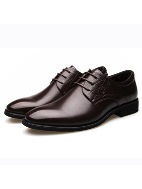 cbbcc7875404bd Product Image New Men s Dress Formal Oxfords Leather shoes Business Casual  Shoes