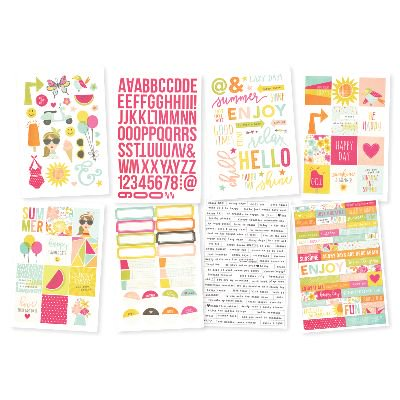 Sunshine and Happiness Stickers, 4