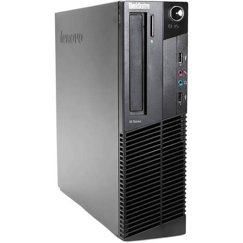 Refurbished Lenovo ThinkCentre M92p SFF Desktop PC with Intel Core i5-3470 Processor, 4GB Memory, 250GB Hard Drive and Windows 7 Professional (Monitor Not Included)