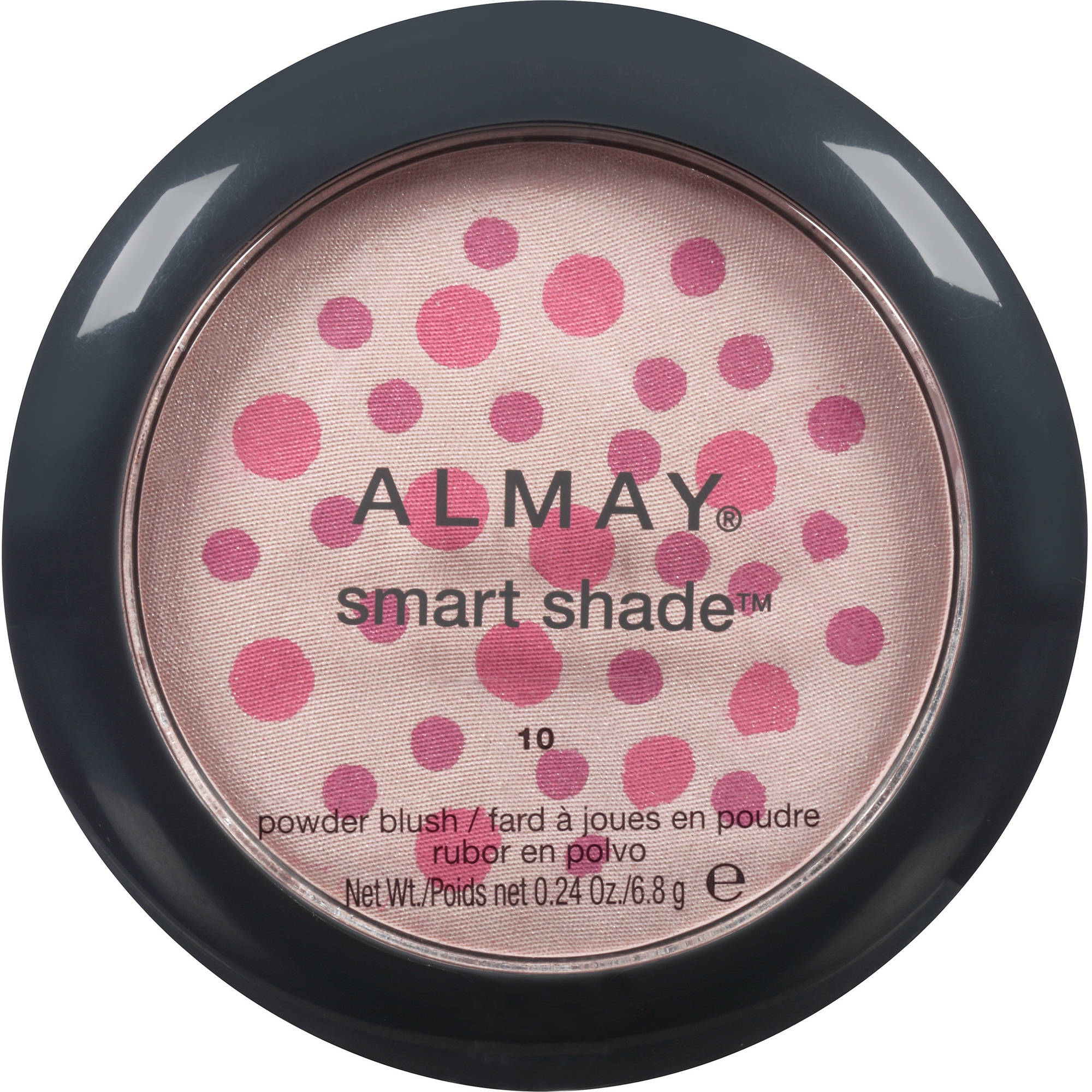 Almay Smart Shade Powder Blush, 10 Pink/Rose, 0.24 oz