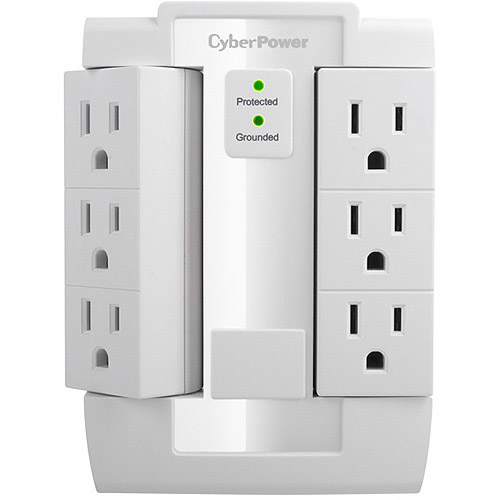 CyberPower CSB600WS 6-Outlet Essential Surge Protection