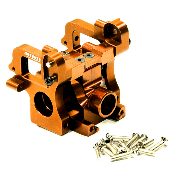 INTEGY RC Model Hop-ups T6923ORANGE Alloy Gearbox Assembl...