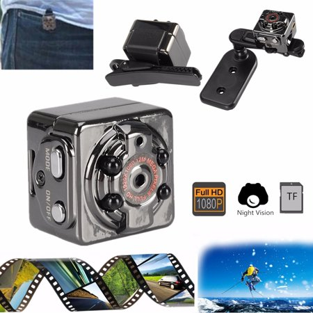SQ8 Mini Full HD 1920X1080P infrared Night Vision Indoor/Outdoor Sport DV  Mini HiddenCamera Voice Video Recorder Car DVR Camcorder High Definition TV OUT
