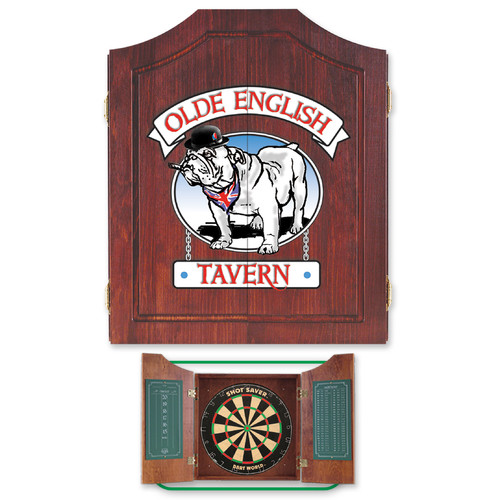 Dart World Bulldog Darts Cabinet