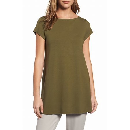 f67087d9 Eileen Fisher Tops & Blouses - Eileen Fisher olive Women's Large ...