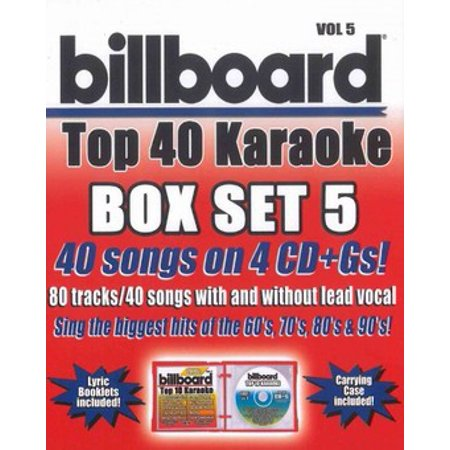 - Party Tyme Karaoke: Billboard Top 40 Karaoke, Vol. 5 (CD)