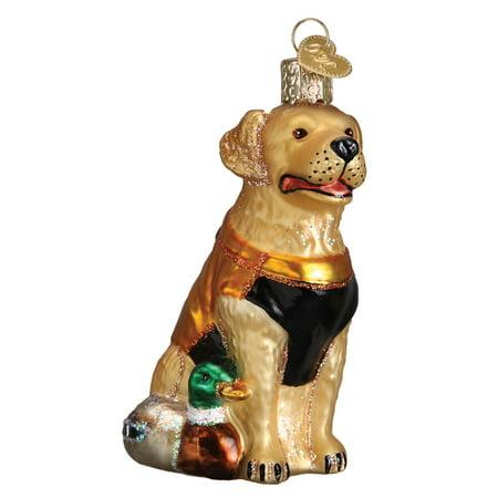 - Old World Christmas Hunting Dog Glass Ornament Decoration 12456 FREE BOX New