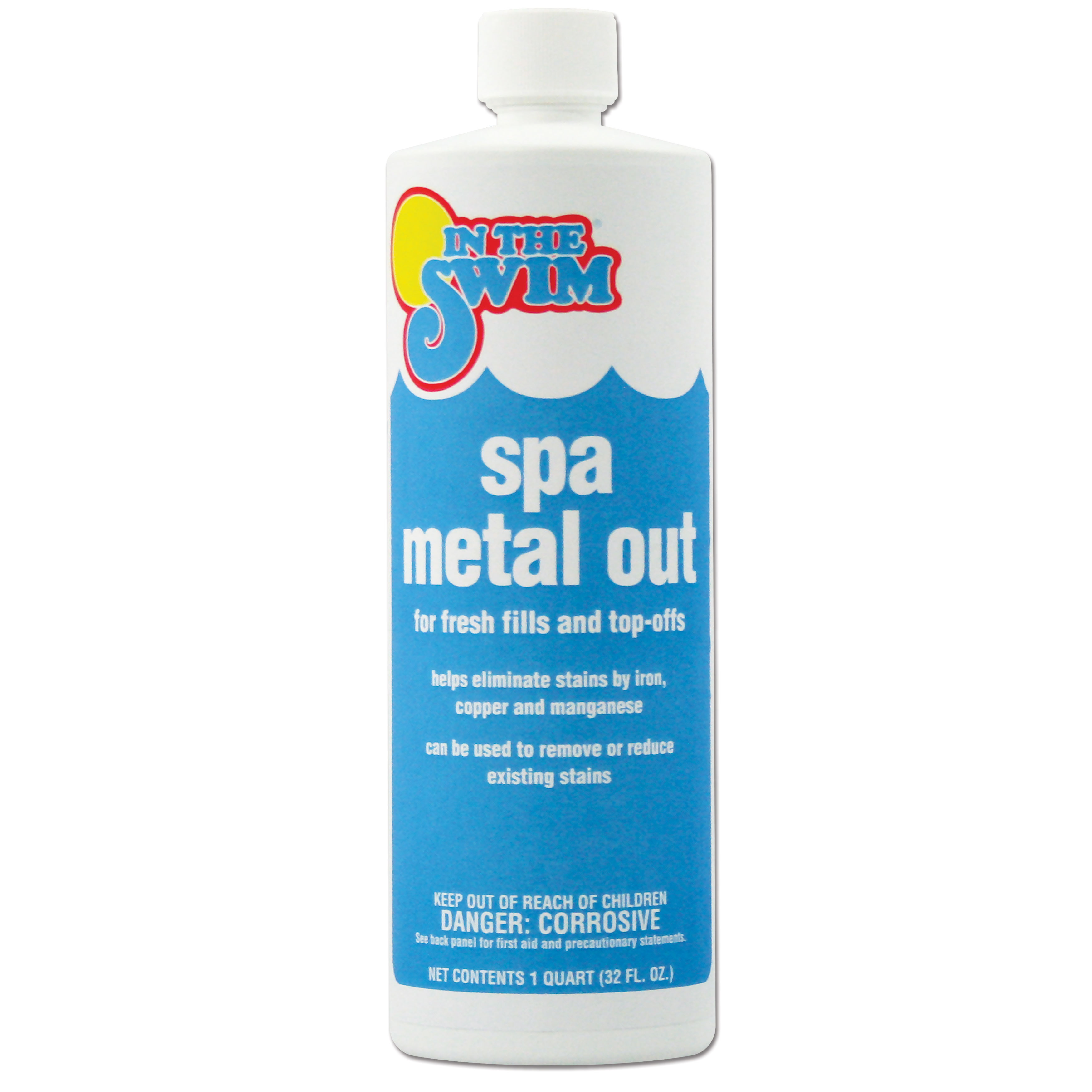 In The Swim Spa and Hot Tub Metal Out - 1 Quart - Walmart.com