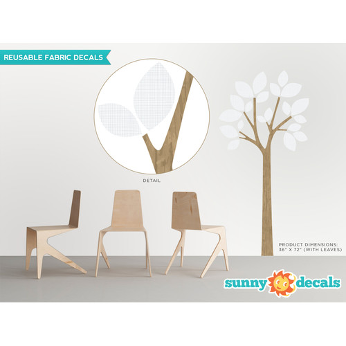 Sunny Decals Modern Tree Wall Decal