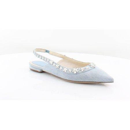 Christian Dior Garland Women's Flats & Oxfords Celeste Size 5.5 M
