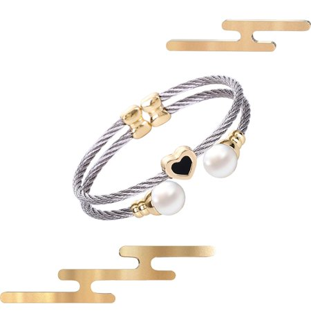 A52 Stainless steel bracelet Female Bangle Temperament Jewelry Ladies Gift - image 4 de 5