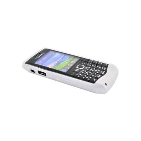 OEM Blackberry Silicone Skin Case for Blackberry 9100 3G, 9105 - Translucent