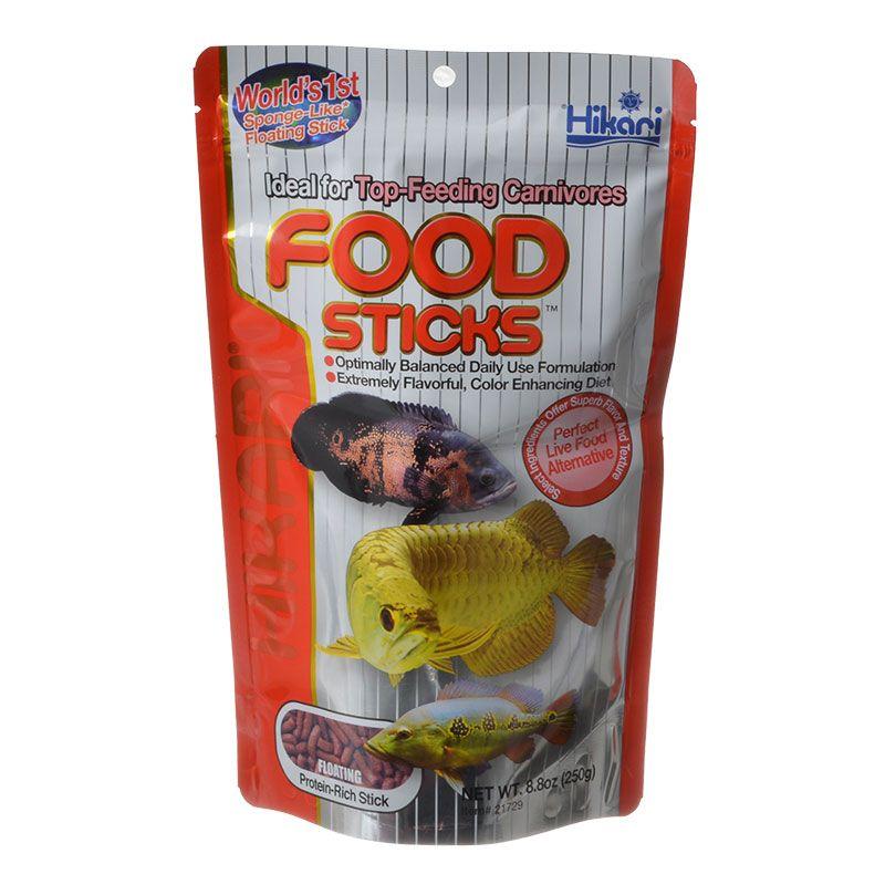 Hikari Food Sticks for Top Feeding Carnivorous Fish 8.8 oz