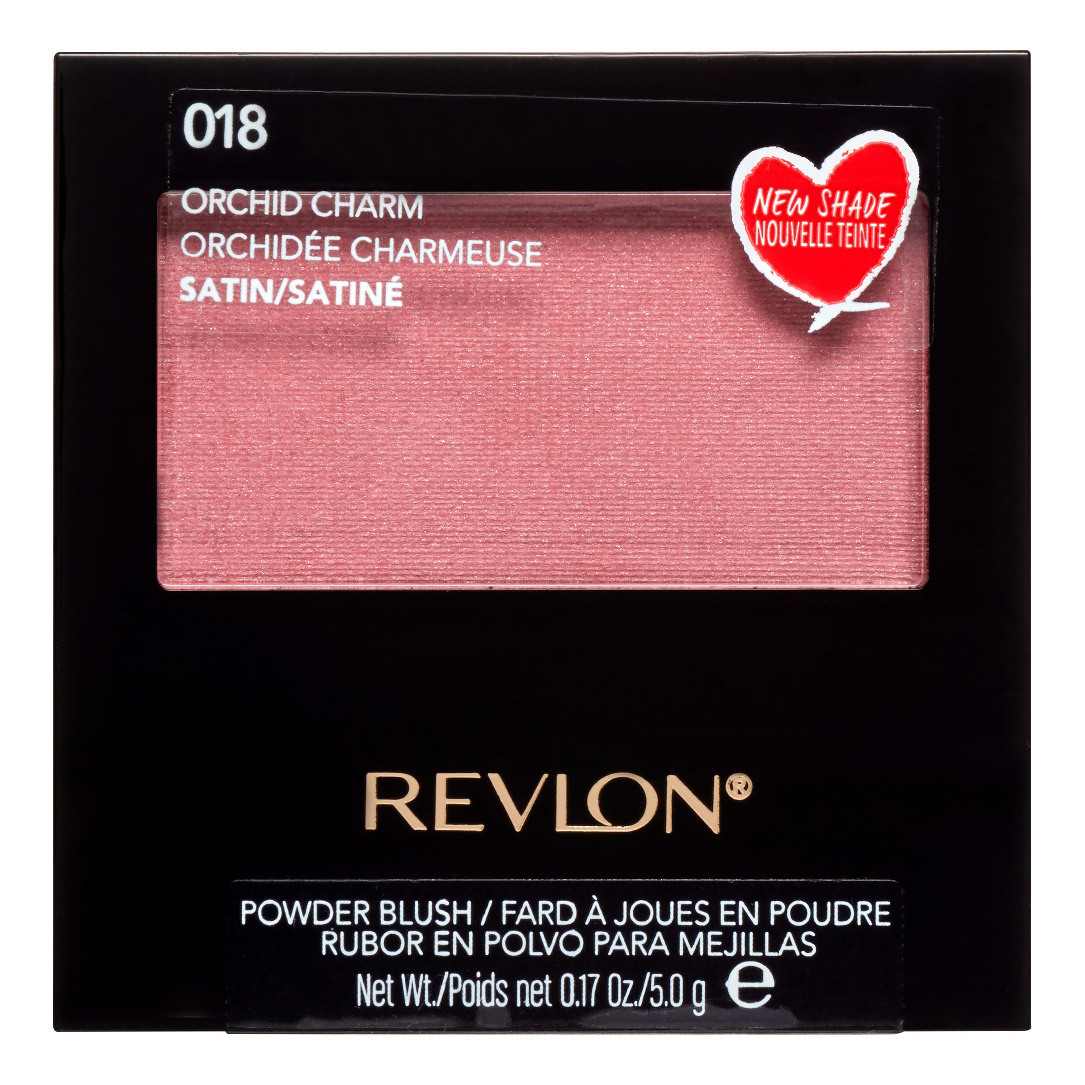 Revlon Powder Blush, 018 Orchid Charm, 0.17 Oz