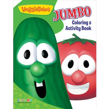 VeggieTales Jumbo Coloring and Activity Book - Walmart.com