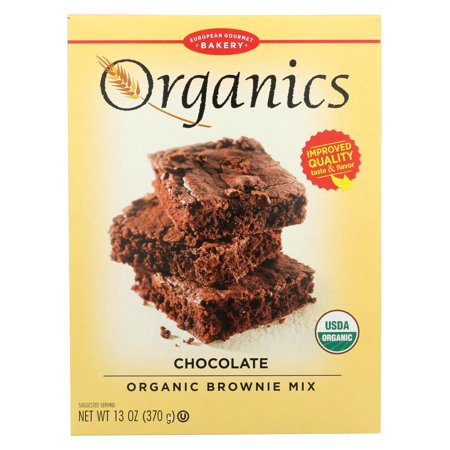 European Gourmet Bakery Organic Chocolate Brownie Mix - Chocolate Brownie Mix - 13 oz.