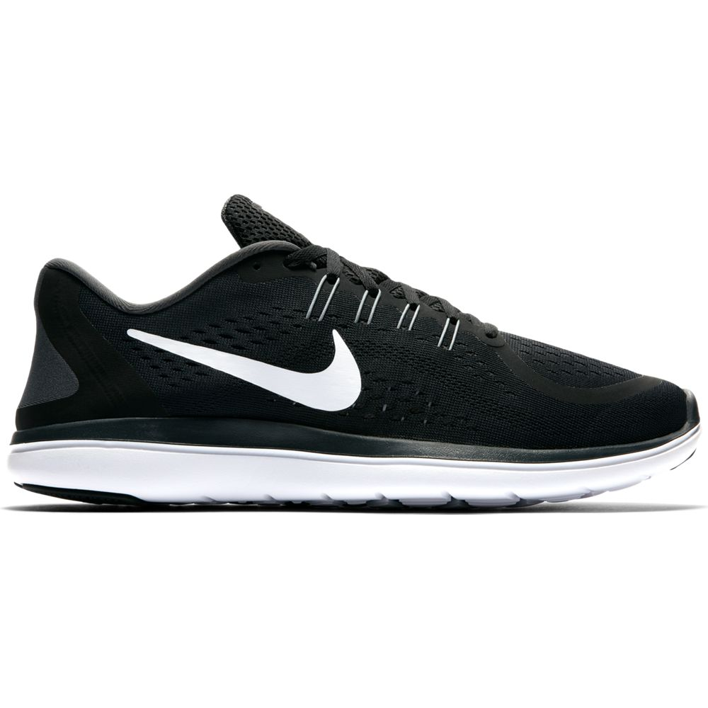 Nike Men's Flex 2017 RN Running Shoes (Black/White, 11.5)