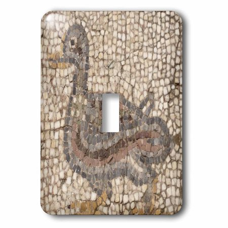 3dRose Roman Mosaic - ephesus, roman ruins, ruins, turkey, mosaic, arts and crafts, duck mosaic, 2 Plug Outlet - Turkey Arts And Crafts