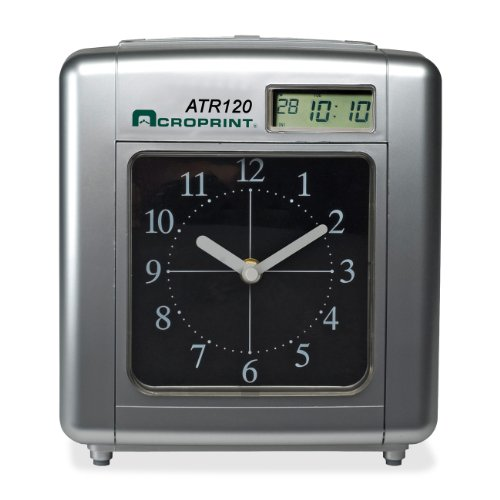 Acroprint Atr120 Electronic Time Clock Card Punch stamp (ACP010212000) by Acroprint Time Recorder