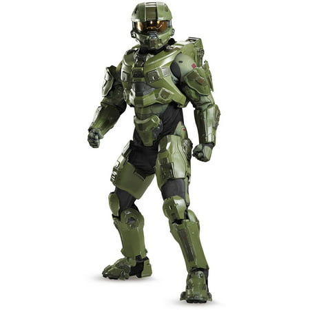Master Chief Ultra Prestige Men's Adult Halloween Costume](Master Cheif Helmet)