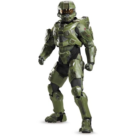 Master Chief Ultra Prestige Men's Adult Halloween Costume (Master Splinter Costumes Adults)